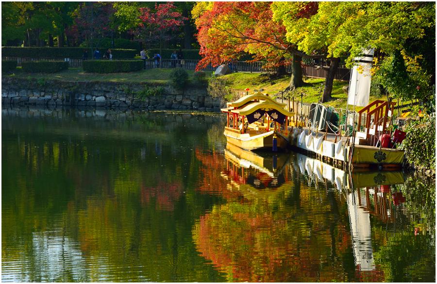 秋の大阪城・助手編3