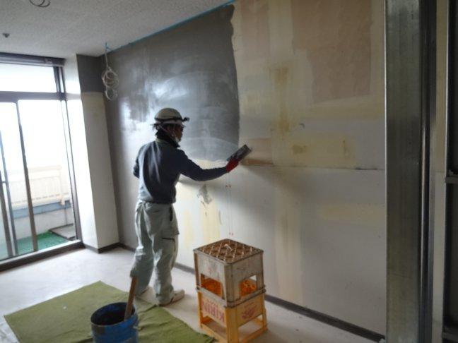 特別養護老人ホームいづはら2改修工事~内装下地・仕上げ中2