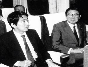安倍総理 晋太郎