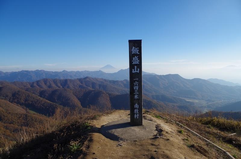 35e737da64 飯盛山(めしもりやま) 八ヶ岳・富士山・南アルプスの大展望(2016年11 ...