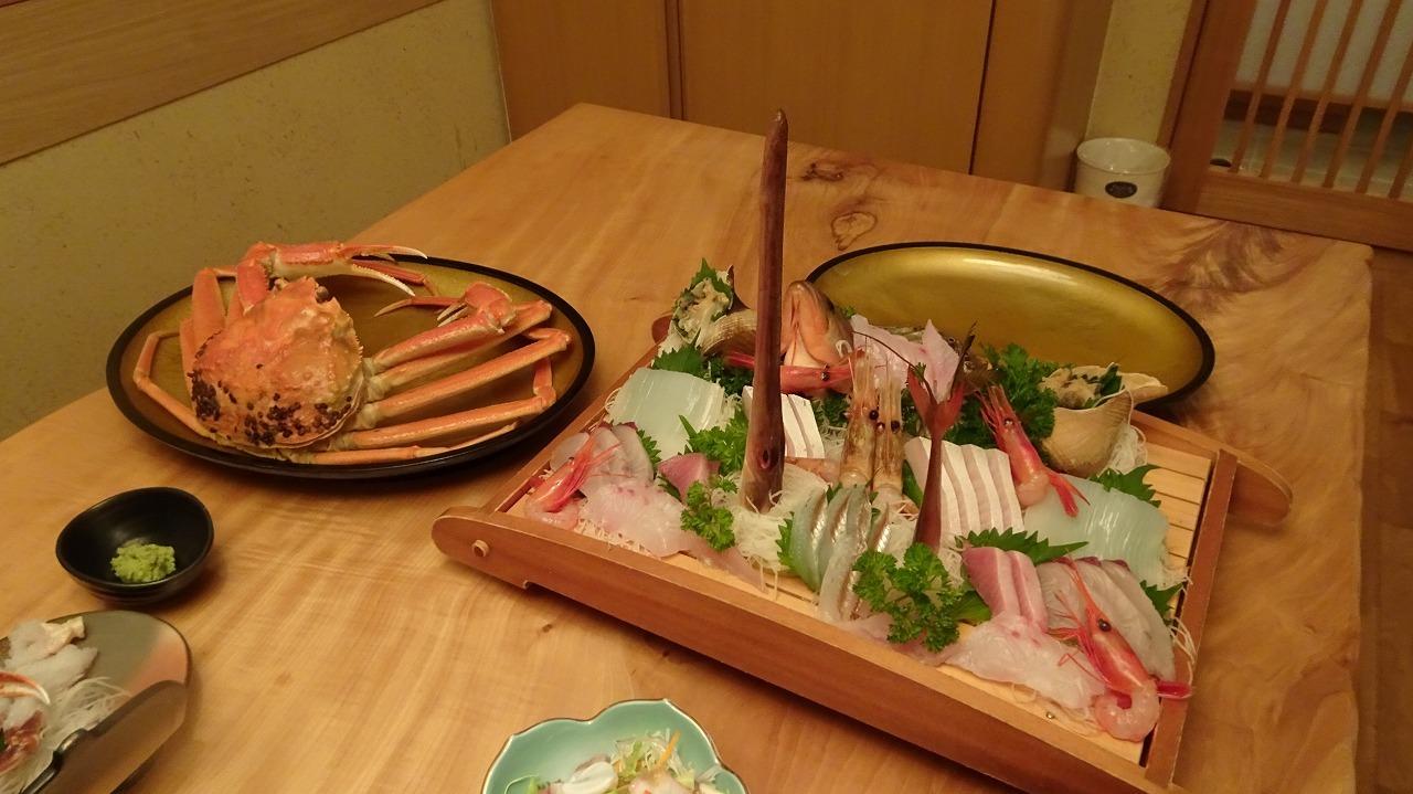越前の宿 うおたけ別館 食事編 (2016年11月)
