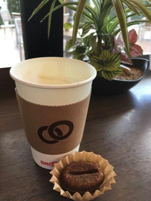 足湯deコーヒー