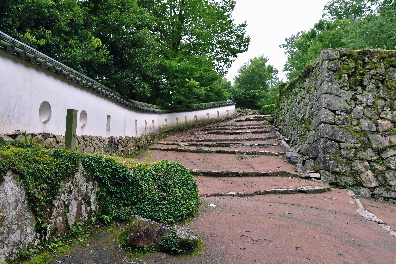 備中松山城 現存土塀