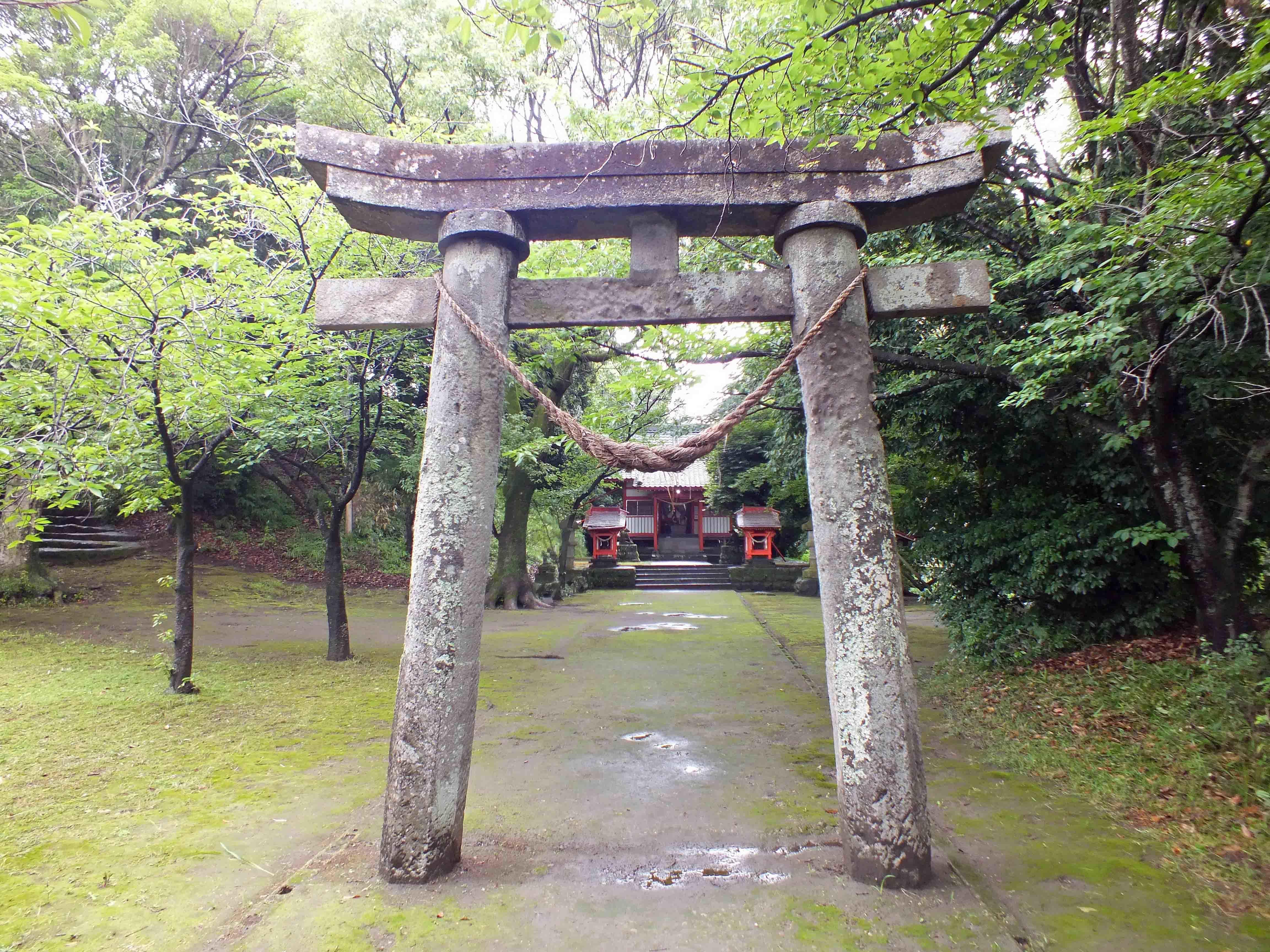 富隈城 稲荷神社
