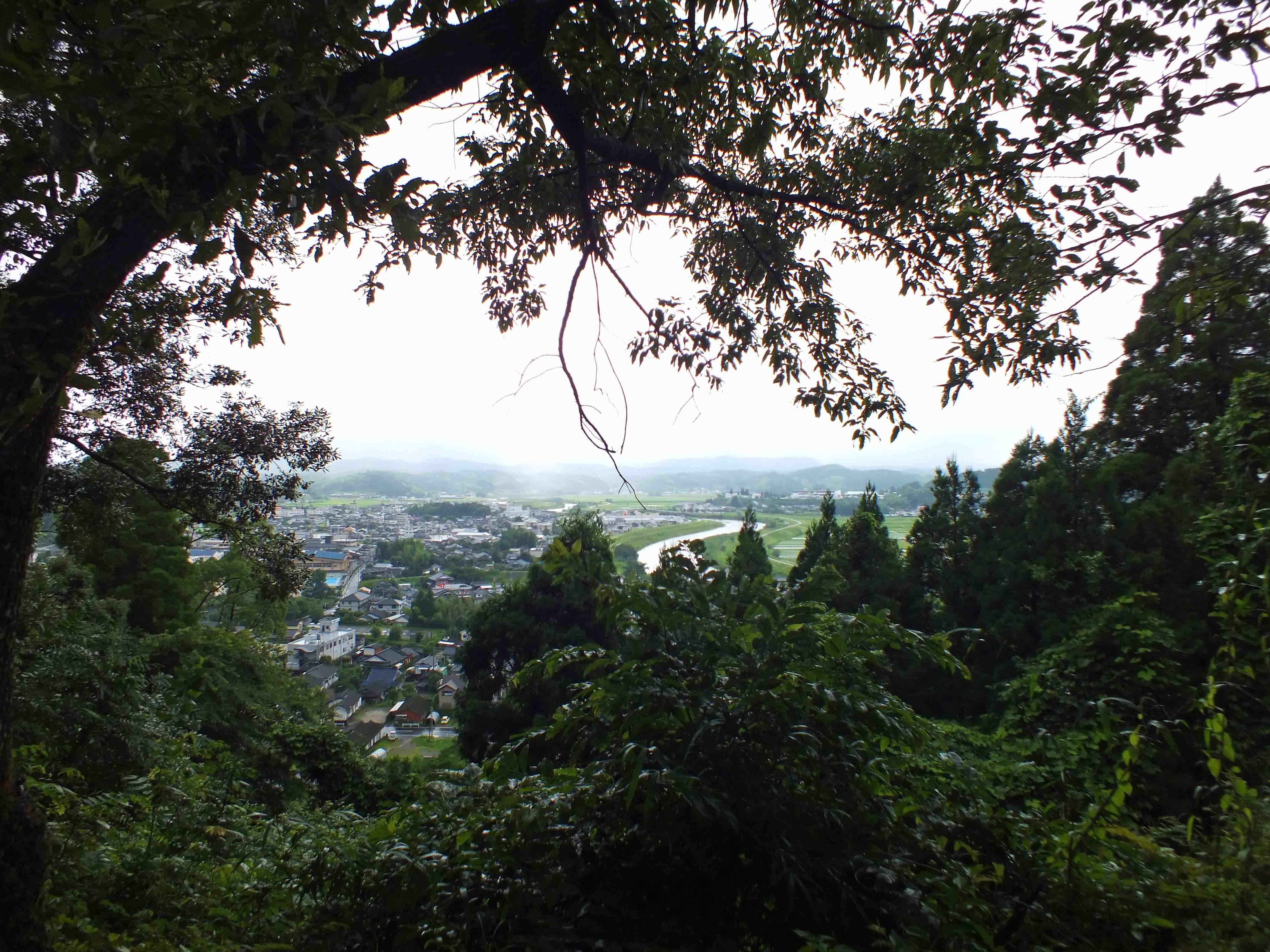 松尾城 本丸からの展望