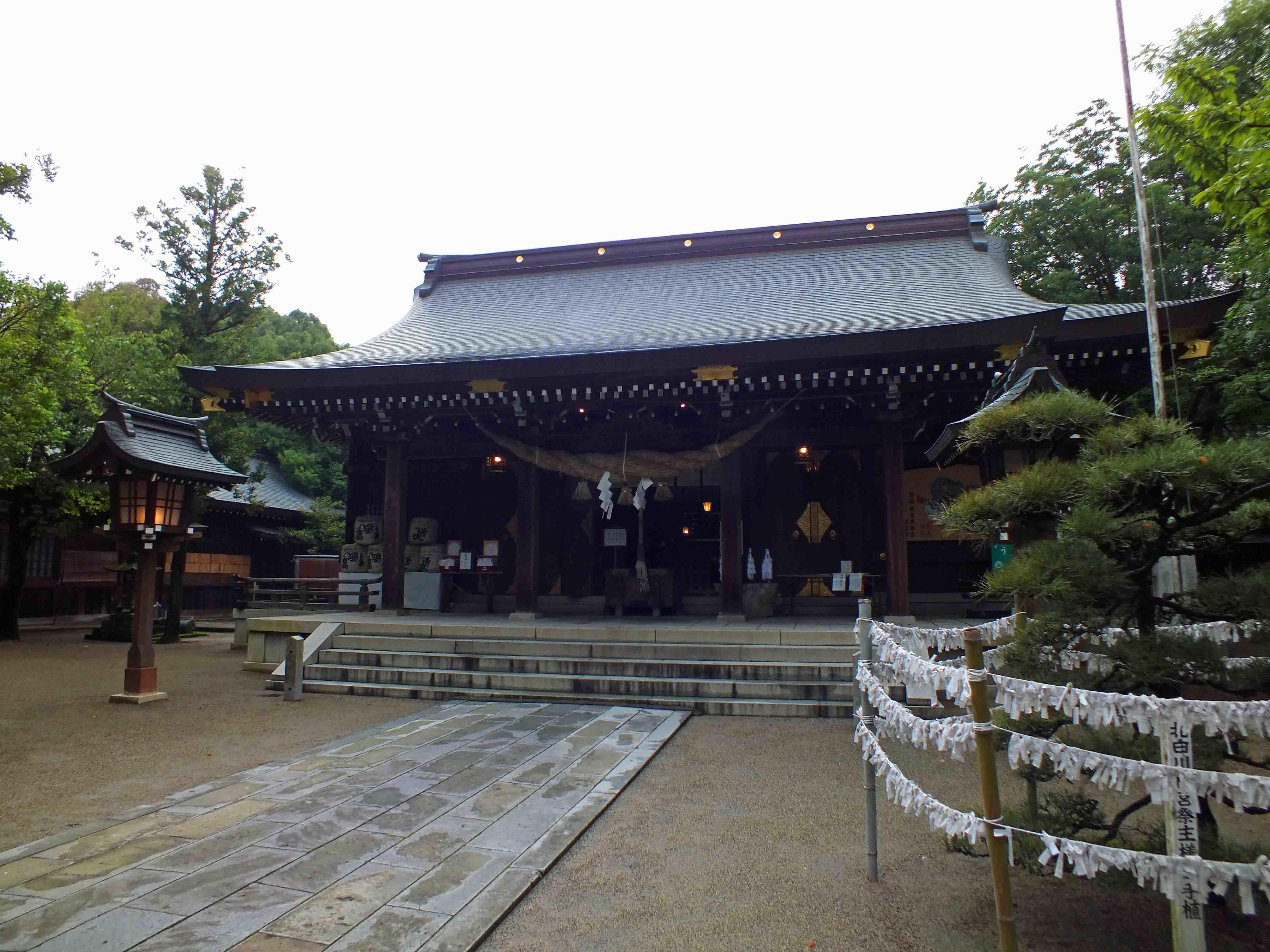 菊池神社 拝殿