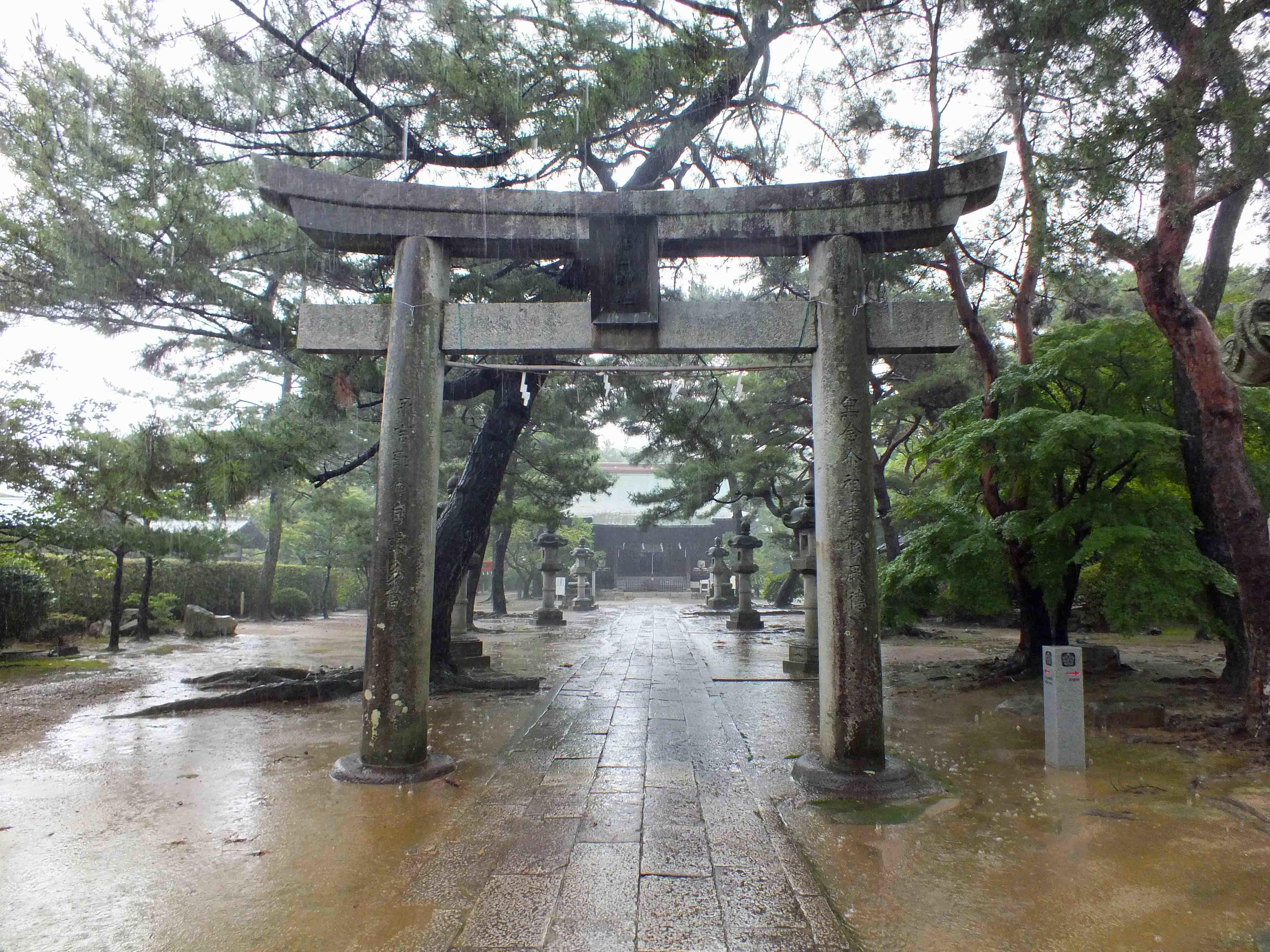 久留米城 神社