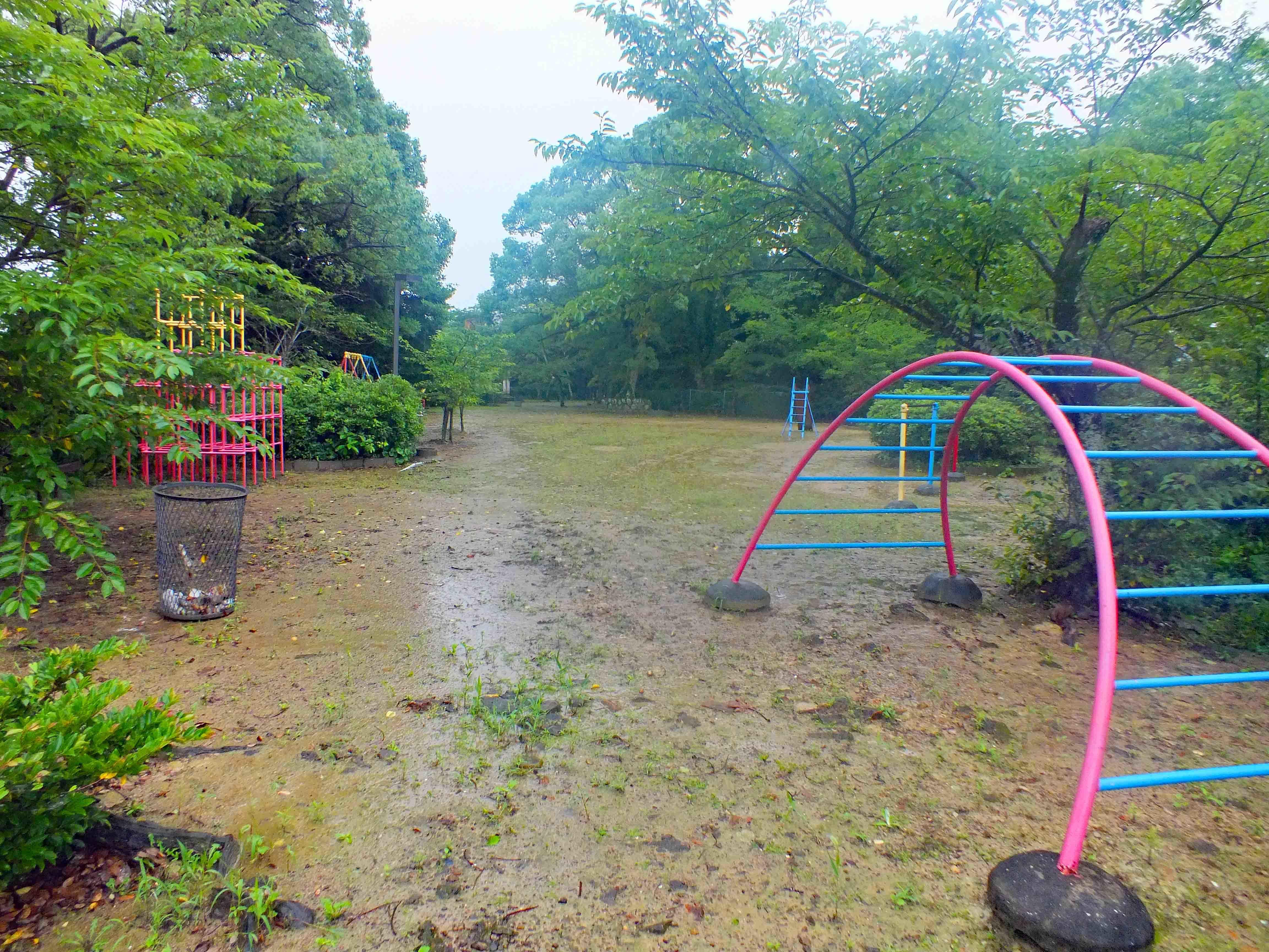 伊万里城 山頂部は公園