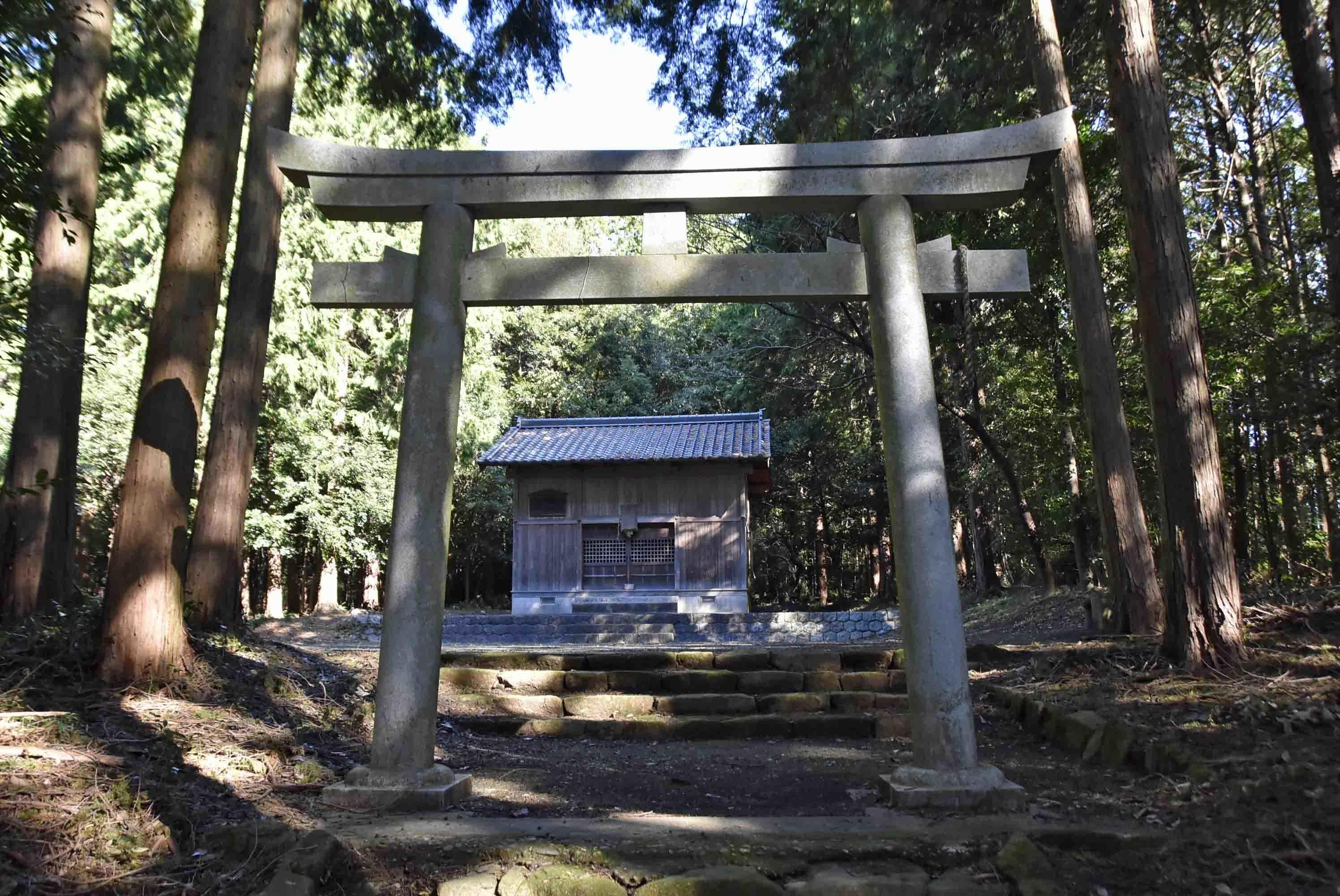 岡崎信康本陣跡 神社