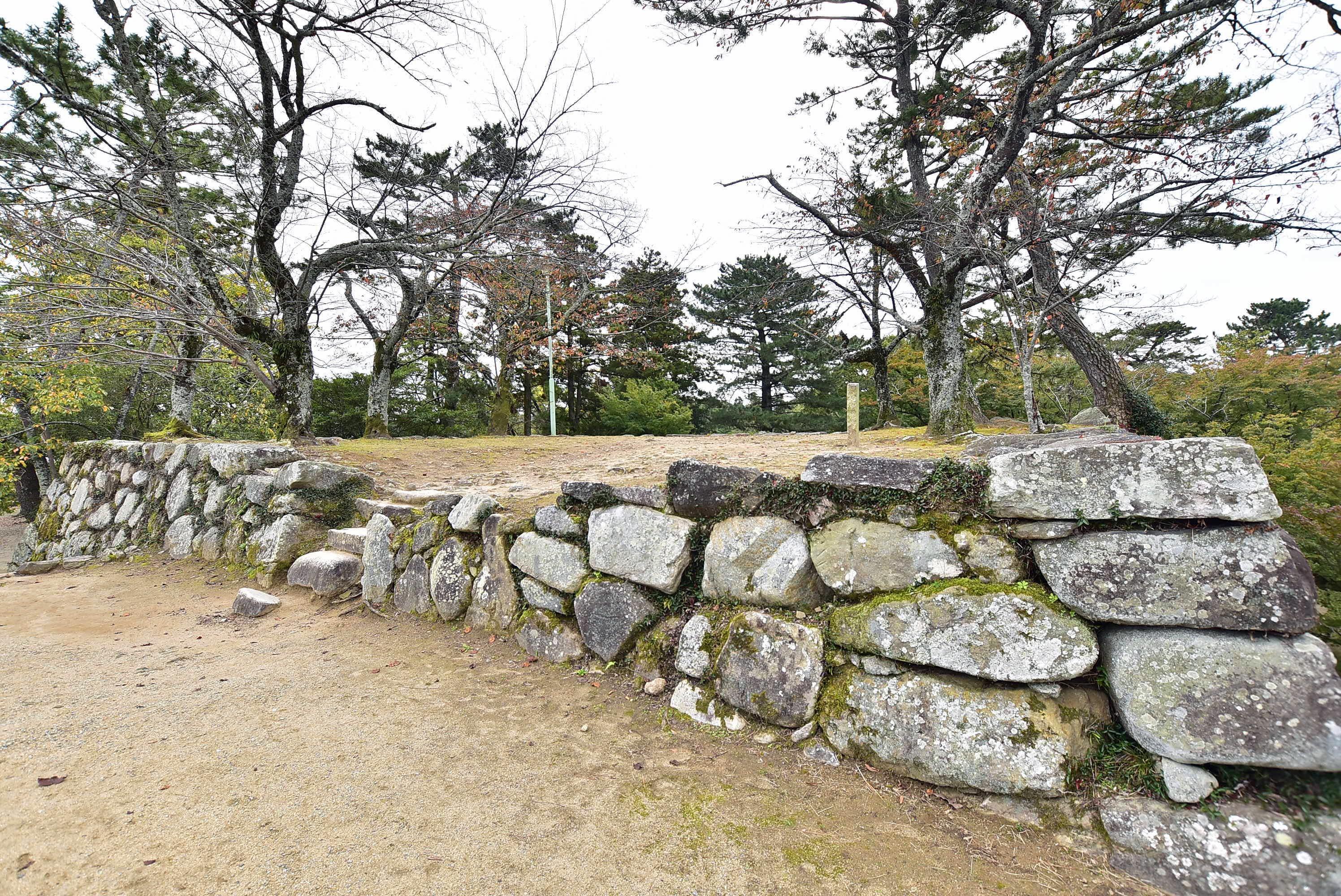 松阪城 天守台