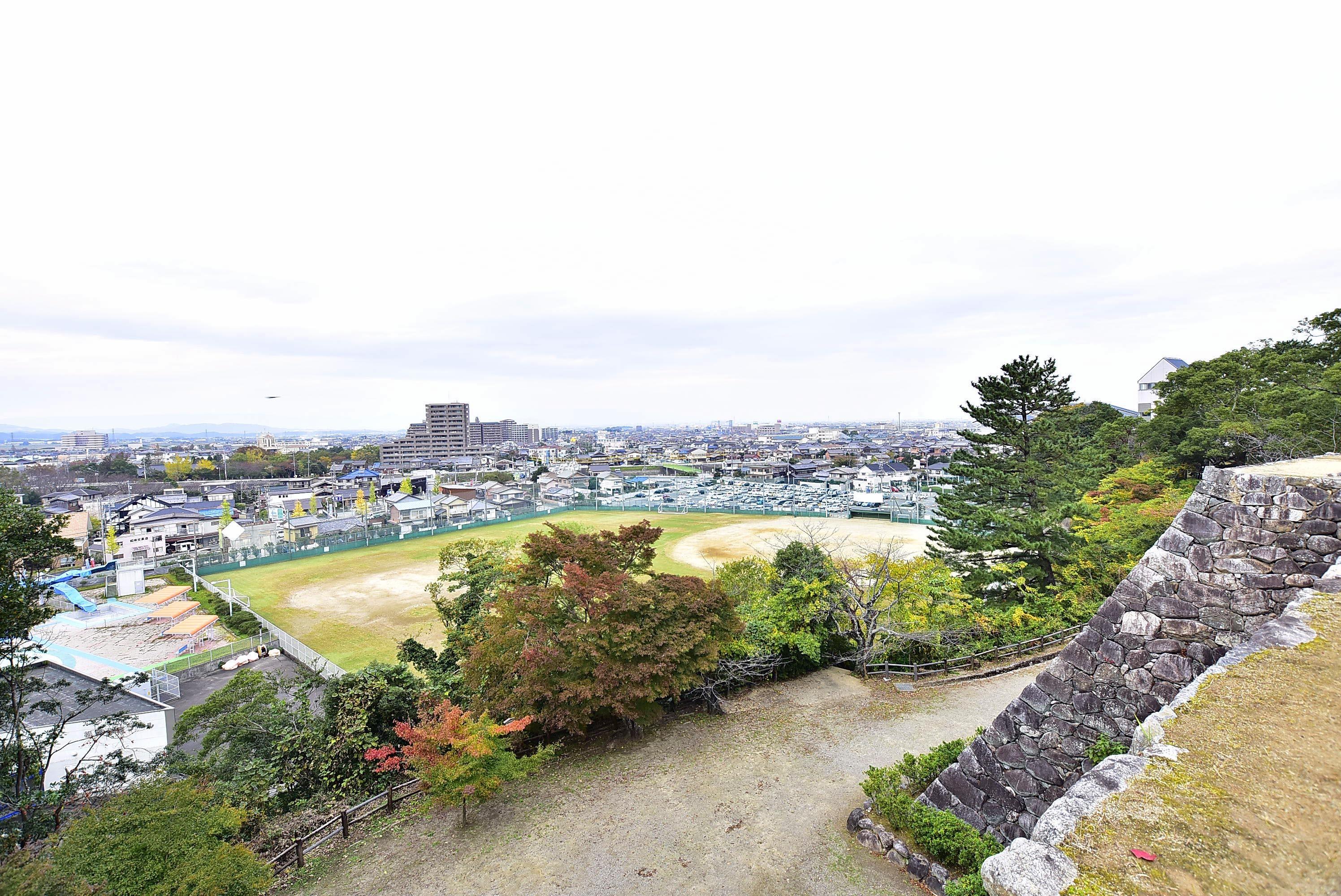 松阪城 本丸からの展望