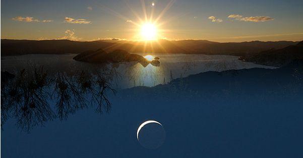 朔旦冬至は太陽と月の復活が重なる日