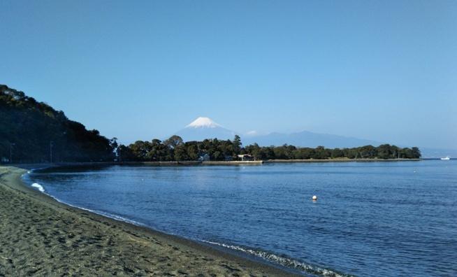 大瀬崎の浜
