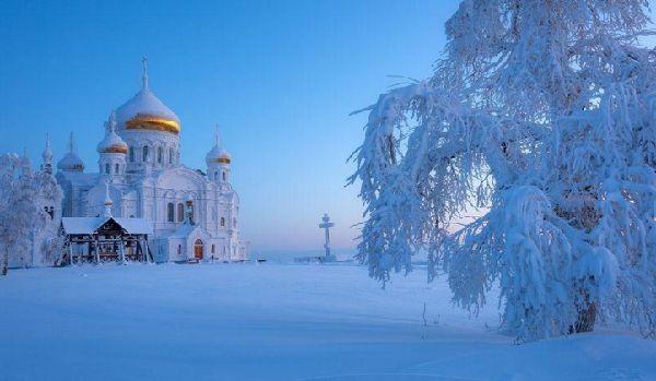 ロシアの雪げしき